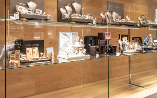 verre anti-reflets anti-effractions bijouterie